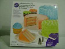 New listing Wilton Deluxe 46pc Decorating Set / Sealed / New