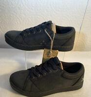 Shoes for Crews Mozo Men Mavi Leather Slip Resistant Lace Up Leather Shoe Sz 7