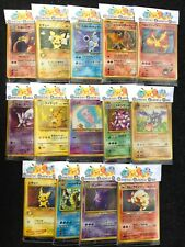 Japanese Pokemon Cards - Old Pocket Monsters Mystery Booster Pack Lot PRE ORDER