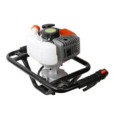 WOO 52cc Gas Power Earth Auger Post Fence Hole Digger Petrol Borer Ground Drill