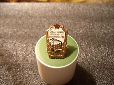Soviet Russia Table Pin Badge Excellent military construction rare