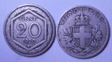20 Centesimi Esagono 1920 conservz. MB