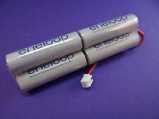 BATTERIA trasmettitore Panasonic ENELOOP 7,2v per HITEC OPTIC SPORT fino a 2100 cicli di ricarica NUOVO