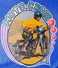 70s Motor Dirt Bike Honda Yamaha Kawasaki Enduro Motorcycle vTg t-shirt iron-on