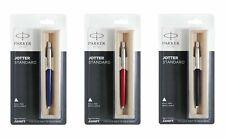 Parker Jotter Standard CT Blue Ink Ball Pen (Red, Black, Blue )
