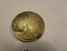 Reichsmark, 1 Mark, Reichsmünze, 1906 Buchstabe A silber  unbehandelt, top (19)