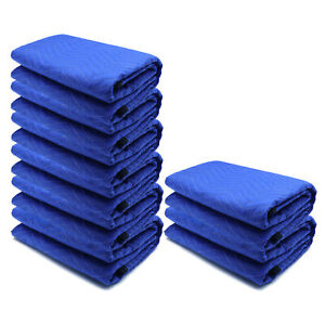 72x80 8PCs Thick Furniture Moving Packing Blanket For furniture Pads