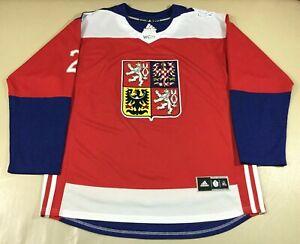 Czech Hockey Adidas Jersey SizeXL
