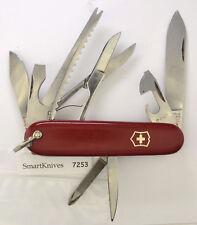 Victorinox Fisherman Swiss Army knife- used, vintage w bail/shackle, good #7253