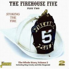 FIREHOUSE FIVE PLUS TWO - STOCKING THE FIRE 2 CD NEUF