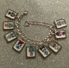 Silver Plated Charm Bracelet LOL L.O.L Surprise Doll Series 2 Sugar Spice Queen