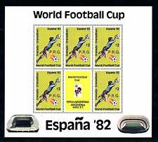 [60608] Grenada Grenadines 1982 World Cup Soccer with overprint P.R.G. MNH