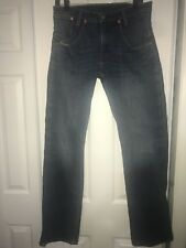 Levi's 514 Mens SLIM STRAIGHT FIT Medium Wash Jeans Sz 32 X 34 C9