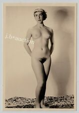 #514 RÖSSLER AKTFOTO / NUDE WOMAN STUDY * Vintage 1950s Studio Photo - no PC !