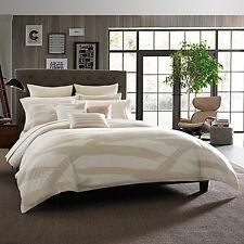 Kenneth Cole Reaction Home Standard Pillow Sham : Brush Stroke : Ivory : NEW