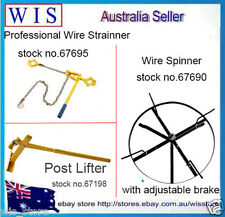 3 in 1 Professional Tool Set,Wire Strainer & Wire Spinner & Post Lifter