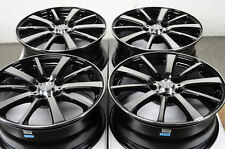 17 5x112 Black Wheels Fits Mercedes Benz E320 E350 Audi A3 A4 A6 C230 C300 Rims