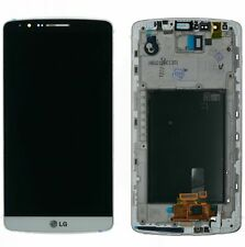 Original LG Optimus G3  D855 Display LCD Touchscreen Glas Scheibe weiß