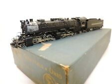 UNITED/Pacific Fast Mail brass loco of CHESAPEAKE & OHIO 2-6-6-2 H-6 with box