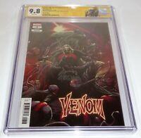 Venom #3 1st Full Knull CGC SS 9.8 Signature Autograph DONNY CATES RYAN STEGMAN