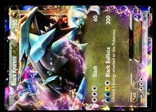 POKEMON BW8 BLACK & WHITE PLASMA STORM HOLO N°  95/135 BLACK KYUREM EX 180 HP