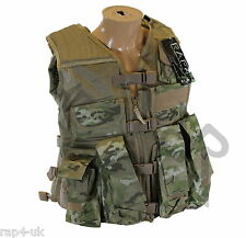 Strikeforce giubbotto antiproiettile per Paintball o Airsoft come Multi Cam-large [bv3]