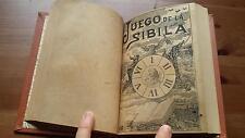 1903 Larumbe El arte de Enamorar+1890 Gitana Azucena El Libro de las Adivinanzas