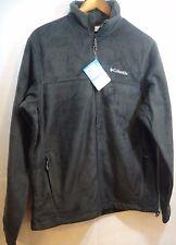 NWT Mens Columbia Steens Mountain Full Zip 2.0 Fleece Jacket Sz Medium Black