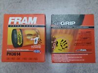 Lot of 2 FRAM Extra Guard PH3614, 10K Mile Change Interval Spin-On Oil Filter