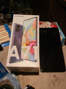 Samsung Galaxy A71 5G SM-A716U - 128GB - Prism Cube Black (Unlocked) (Single SI…