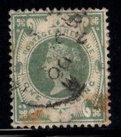 Großbritannien 1887 Mi. 97 Gestempelt 40% 1 Sh, Königin Victoria, Prominente