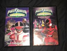 Power Rangers Time Force VHS Tapes Force From The Future Quantum Ranger Clash