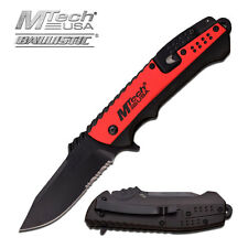Coltello MTech USA Rescue Red MTA889RD Knife Messer Couteau Navaja