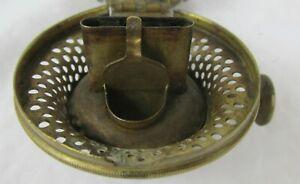 Antique Julius Ives Oil Kerosene Lamp Burner VERY RARE 1861 patent