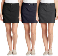 Eddie Bauer Ladies' two back pockets Two front slash pockets Skort
