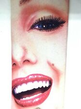 "Ralph Marlin Men's Tie RARE Portrait of Marilyn Polyester 3.25"" Width 60"" Long"