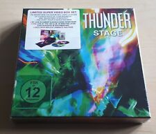 More details for thunder stage 2018 german blu-ray + dvd box w/ replica laminate aaa pass sealed
