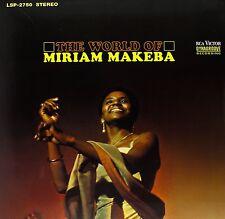 Miriam Makeba-The World of + + VINILE 180 G + + Speakers Corner + + RCA + Nuovo + + OVP