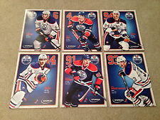 Picture Set of 6 Oilers 8 X 10 Enmax The Nuge Hall Eberle Smyth Paajarvi Whitney