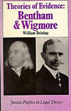 Theories of Evidence (Law in Context) by Twining, William