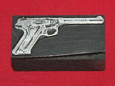 COLT Firearms Factory Woodsman Printers Block
