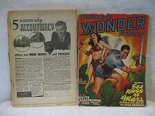 1949 vintage THRILLING WONDER STORIES pulp magazines lot Ray Bradbury Kuttner +!