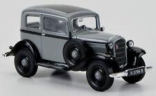 wonderful modelcar OPEL P4 SALOON 1934 - g r e y - scale 1/43