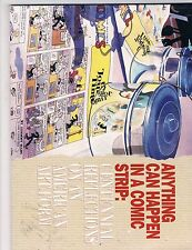 Anything Can Happen In A Comic Strip Hi-Res Scans Awesome Book First Print!!! T7