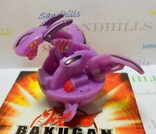 Bakugan Hyper Dragonoid Purple Darkus B3 Bakuflip Reverse Attribute 530G & cards