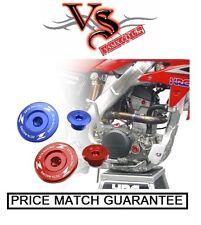 ZETA Engine Plug Set YAMAHA YZF250 YZ250F 01-13 YZF400/426/450 98-05 BLUE
