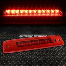 FOR 2003-2016 FORD EXPEDITION RED HOUSING LED THIRD 3RD BRAKE LIGHT LAMP BAR