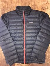 Vintage Patagonia Nano Puff Down Insulated Jacket blue/orange Size Small