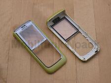 Original Nokia 6151 a-cover | front cover | Ober cáscara en Lime Green verde Nuevo