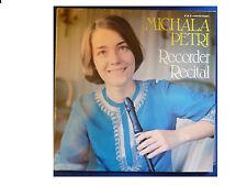 BBC REC 298 * MICHALA PETRI * RECORDER RECITAL * SIGNED VINYL LP